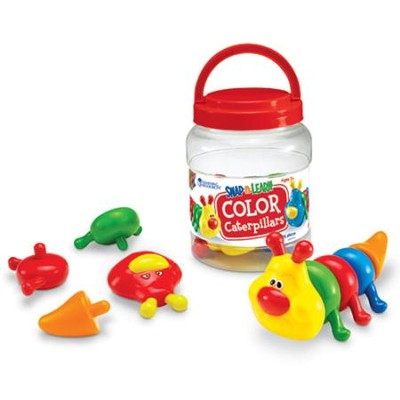 Snap-n-Learn Color Caterpillars   -