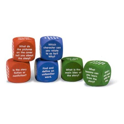 Reading Comprehension Cubes, Set of 6   -