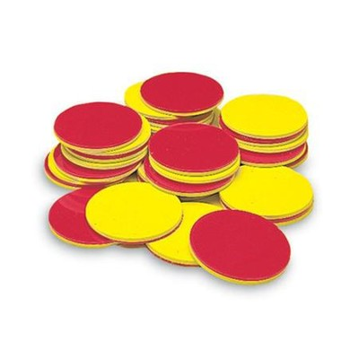 Yellow & Red Counters, Set of 200   -