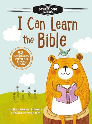 I Can Learn the Bible: The Joshua Code for Kids: 52 Devotions and Scriptures for Kids - eBook  -     By: Holly Hawkins Shivers
