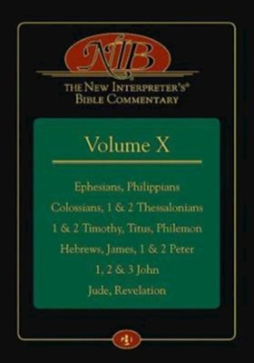 The New Interpreter's Bible Commentary Volume X   -     By: J. Paul Sampley