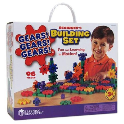 Gears! Gears! Gears! ® Building Set, Ages 3-10   -