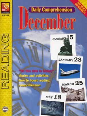 Daily Comprehension: December   -