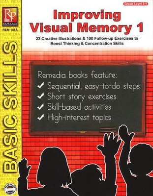 Improving Visual Memory, Grades 3-4   -
