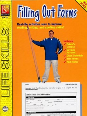 Practical Practice Reading: Filling Out Forms   -