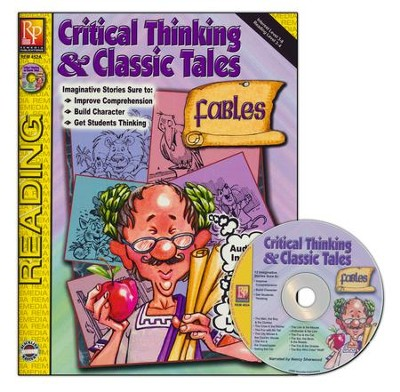 Critical Thinking & Classic Fables, Book & CD   -