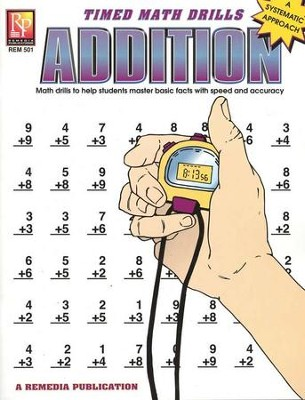 Timed Math Drills: Addition   -