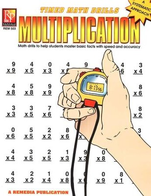 Timed Math Drills: Multiplication   -