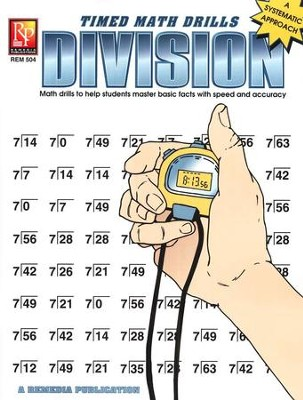 Timed Math Drills: Division   -