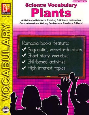 Science Vocabulary: Plants   -
