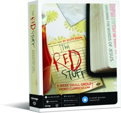 The Red Stuff: 5-Week DVD Curriculum  -     By: Scott Rubin