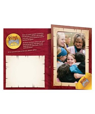 Rome VBS 2017: Follow-up Foto Frames (pack of 10)   -