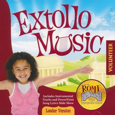 Rome VBS 2017: Extollo Music CD   -