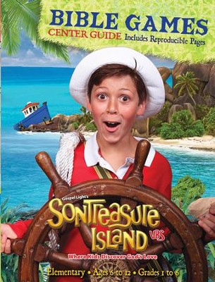 VBS 2014 SonTreasure Island- Bible Games Center Guide: Includes Reproducible Pages  -