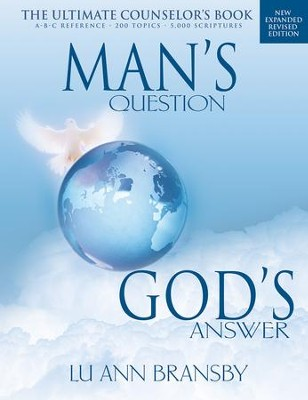 Man's Question God's Answer - eBook  -     By: LuAnn Bransby