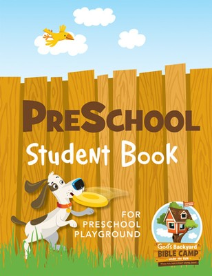 Under the Sun VBS: Preschool Student Book - Slightly Imperfect  -