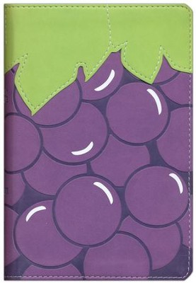 NIV, Fruit of the Spirit Bible Collection, Italian Duo-Tone, Grapes  -