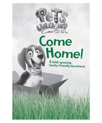 Pets Unleashed VBS: Come Home Family Devotional Booklet, pack of 10  -