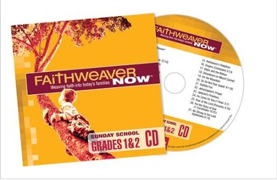 FaithWeaver Now Grades 1&2 CD, Winter 2016  -