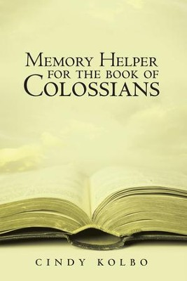 Memory Helper for the Book of Colossians - eBook  -     By: Cindy Kolbo