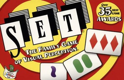 SET: The Family Game of Visual Perception   -