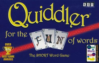 Quiddler: The Short Word Game   -