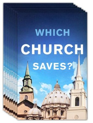 Which Church Saves? (KJV), Pack of 25 Tracts   -
