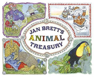 Jan Brett's Animal Treasury  -     By: Jan Brett