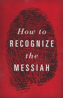 How to Recognize the Messiah (KJV), Pack of 25 Tracts   -