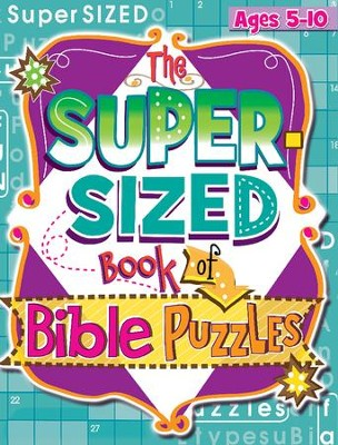 The Super Sized Book of Bible Puzzles   -