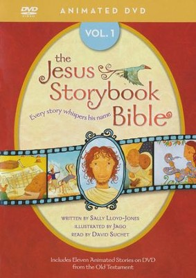 The Jesus Storybook Bible Animated DVD, Vol. 1   -     Narrated By: David Suchet     By: Sally Lloyd-Jones     Illustrated By: Jago