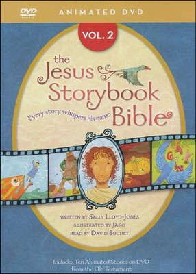 Jesus Storybook Bible Animated DVD, Vol. 2  -     Narrated By: David Suchet     By: Sally Lloyd-Jones     Illustrated By: Jago