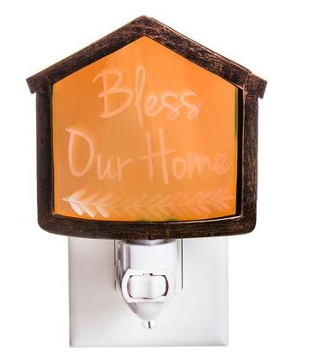 Bless Our Home Nightlight  -