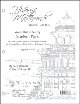 History's Masterminds Additional Student Pack   -