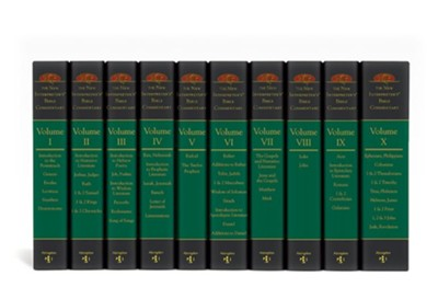 The New Interpreter's Bible Commentary Ten Volume Set   -     By: Leander E. Keck