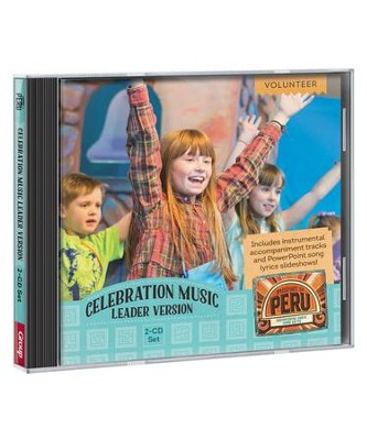 Passport to Peru VBS: Celebration Music Leader Version 2-CD Set   -