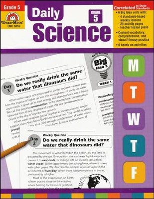 Daily Science, Grade 5  -