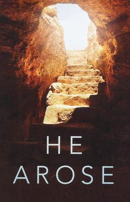 He Arose (KJV), Pack of 25 Tracts   -