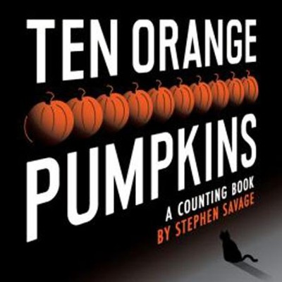 Ten Orange Pumpkins  -     By: Stephen Savage