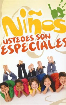 Niños, Ustedes Son Especiales, Paq. de 25 Tratados  (Kids, You Are Special, Pack of 25 Tracts)  -