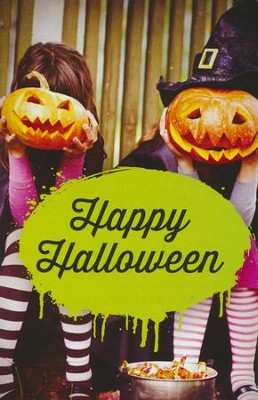 Happy Halloween / New edition (ESV), Pack of 25 Tracts    -