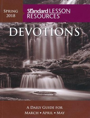 Standard Lesson Resources: Devotions &#174 Pocket Edition, Spring 2018  -