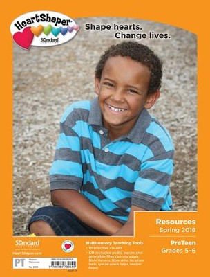 HeartShaper: PreTeen Resources, Spring 2018  -
