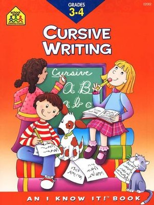 Cursive Writing, Grade 3-4, An I Know It! Book   -