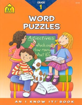 Word Puzzles, Grade 1, I Know It! Series   -