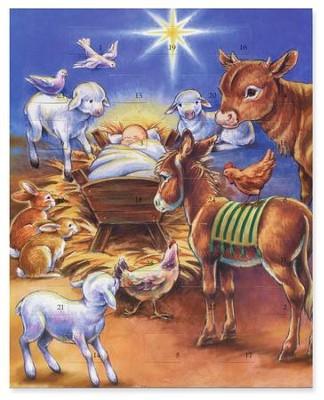 Precious Moments Nativity Advent Calendar Christianbook Com