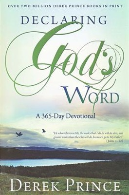 Declaring God's Word-Devotional  -     By: Derek Prince