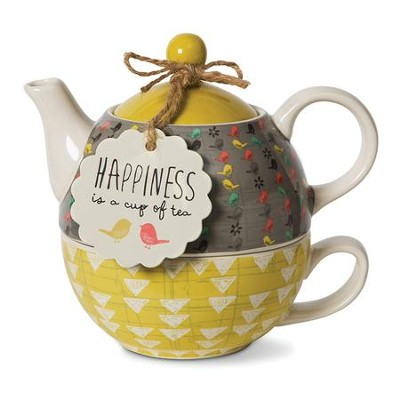 Happiness Is A Cup Of Tea, Tea For One  -