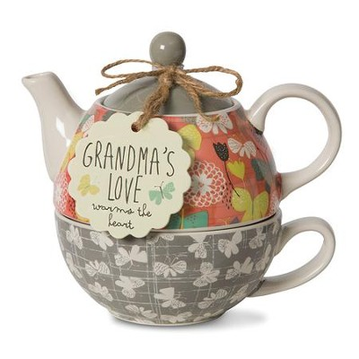 Grandma's Love Warms the Heart, Tea For One  -