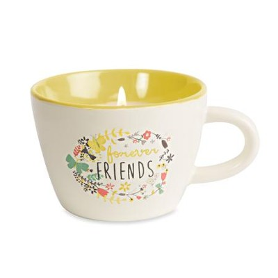 Forever Friends Teacup Candle  -